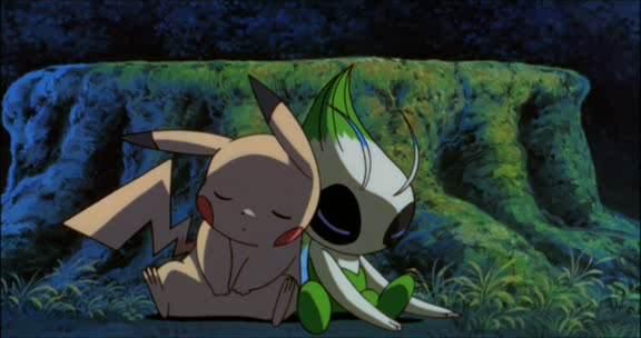 Celebi et pikachu! 01
